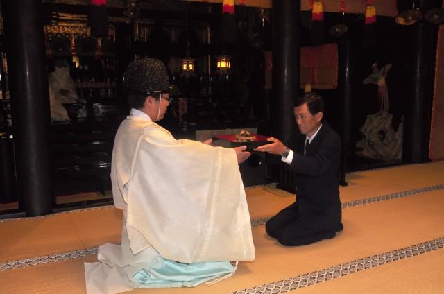 家康公と縁の深い「折戸なす」を久能山東照宮へ奉納