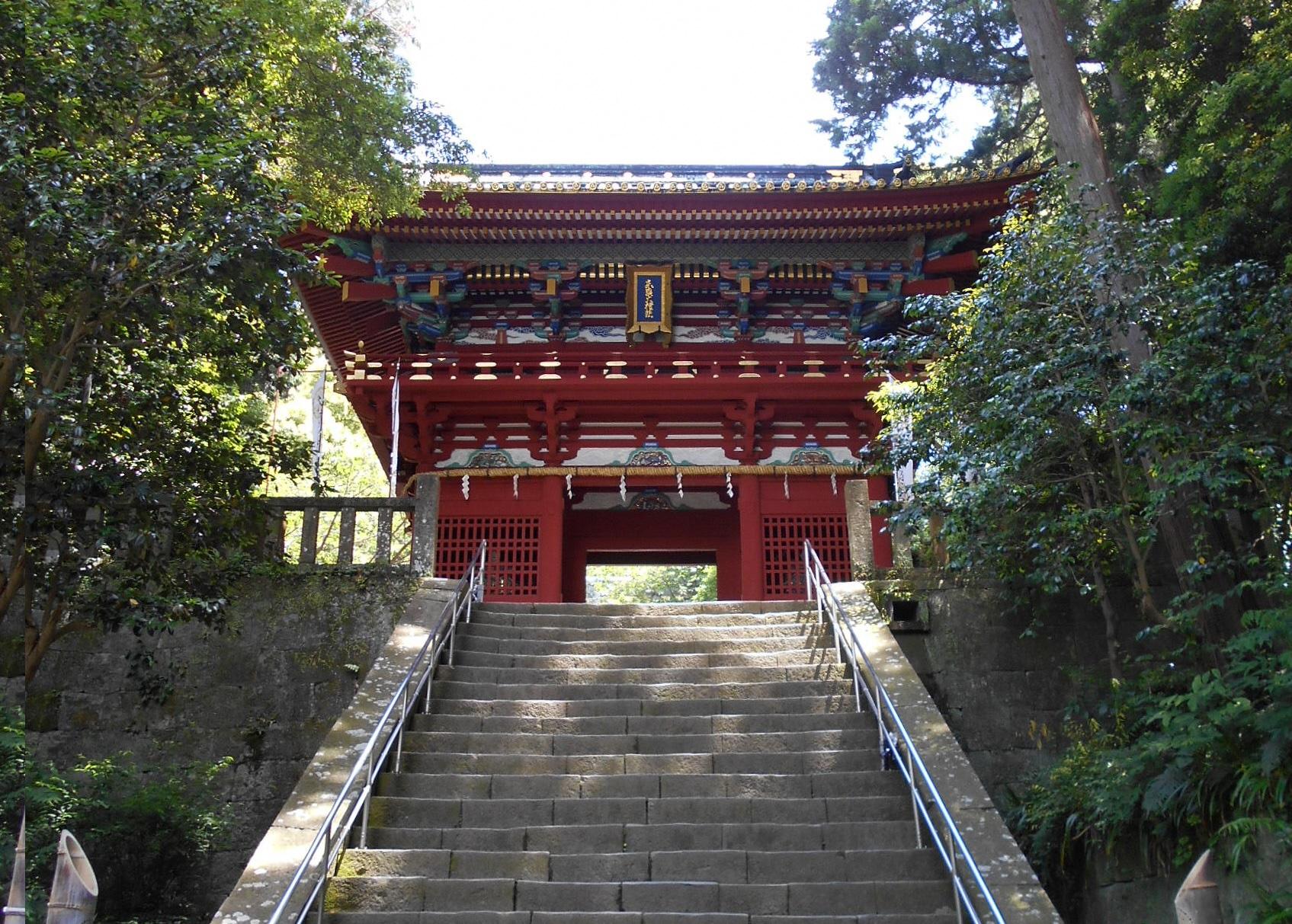 「折戸なす」久能山東照宮に奉納の画像