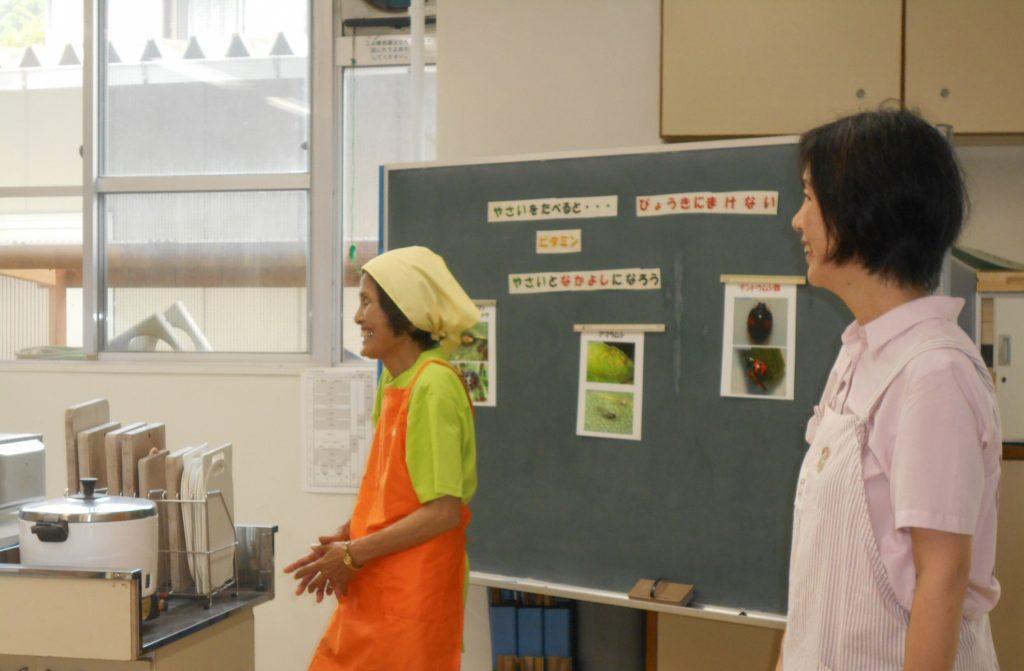 食育授業「夏野菜を好きになろう!」 ~ 静岡市立由比北小学校 ~の画像