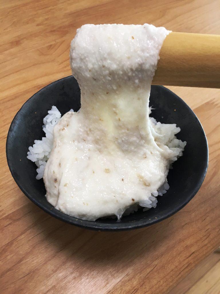「三日とろろ」は静岡市産の自然薯で!の画像