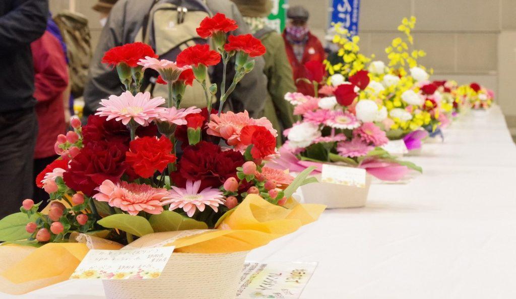 バレンタインには静岡の花を!の画像