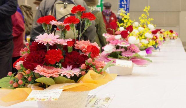 バレンタインには静岡の花を!